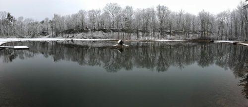 The Private Pond in Winter