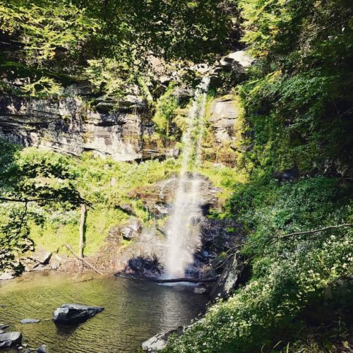 PlatteKill waterfall located just four miles from Hacienda de Leyenda. The perfect watering hole for a summer swim or picnic.