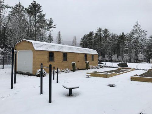 Sports Club in Winter