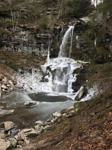 Our local waterfalls are just 3 miles from HdL