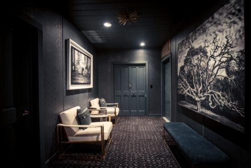 The Owl or Caverna suite has its own private lounge